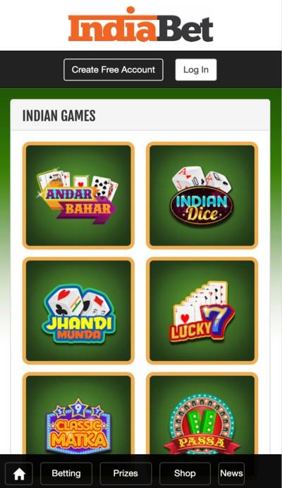 Indiabet-casino-games